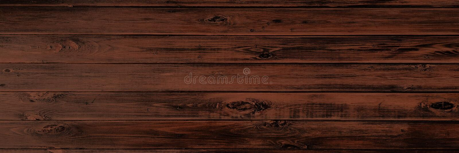Wood texture background, brown wooden planks. Grunge washed wood table pattern top view. stock images