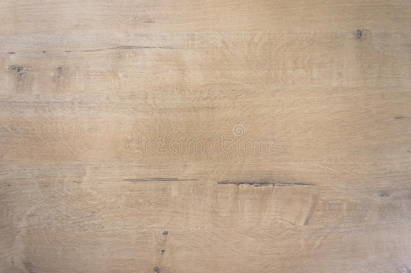 Wood texture background closeup. Light brown color royalty free stock photography