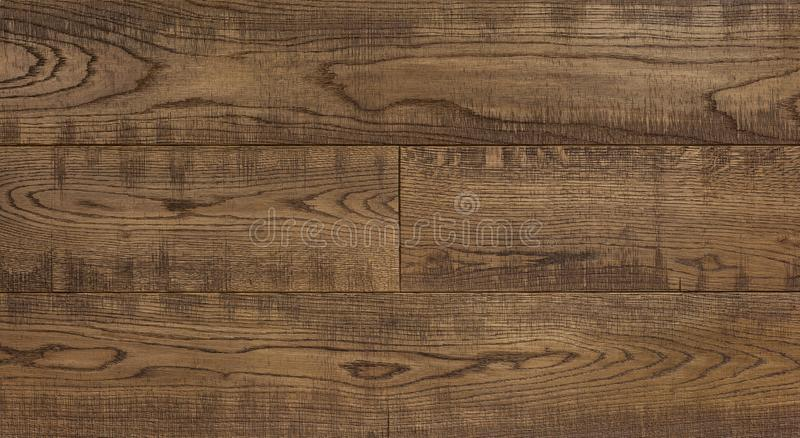 Wood texture background for design, oak toned old fashioned scratches board . royalty free stock image