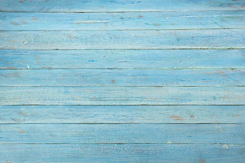 Wood texture background. Hardwood, wood grain, organic material grunge style. blue wooden surface top view. Wooden table royalty free stock photos