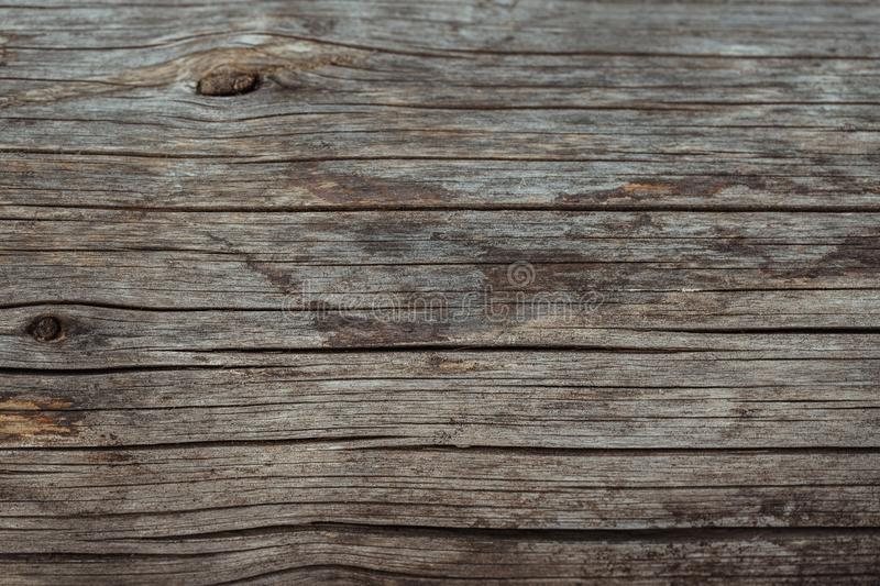 Wood texture or wood background. Wood for interior exterior decoration. Grunge dark abstract wooden background. Old brown natural stock image