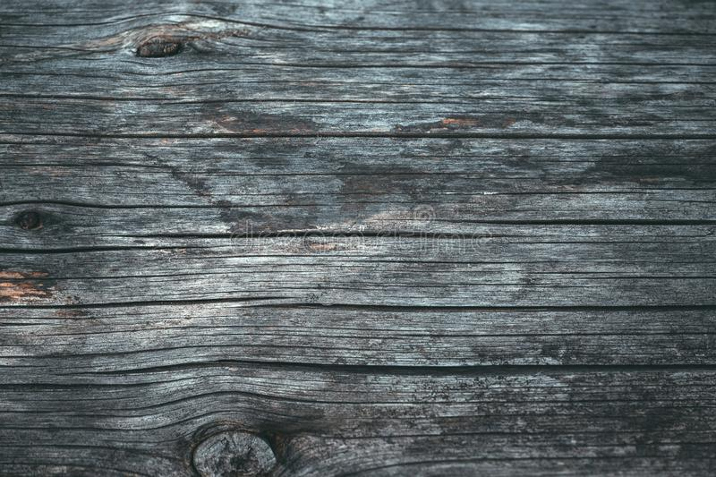 Wood texture or wood background. Wood for interior exterior decoration. Grunge dark abstract wooden background. Old gray natural stock images