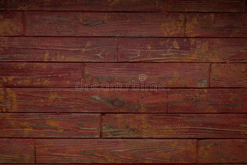 Wood texture background surface with old natural pattern. Old wooden broun texture background. Wood that has been dyed royalty free stock photos