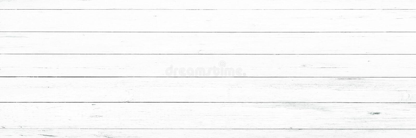 Wood texture background, white wood planks. Grunge washed wood wall pattern. royalty free stock photos