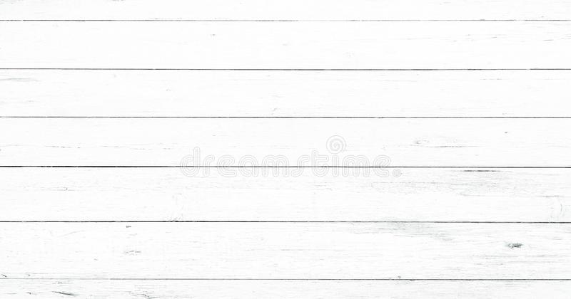 Wood texture background, white wood planks. Grunge washed wood wall pattern. royalty free stock photography
