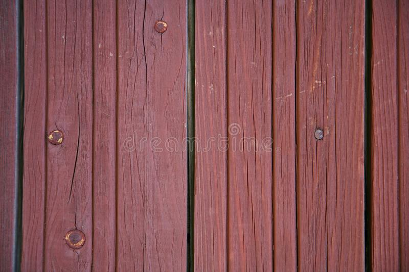 Wood Texture Background, Wooden Board Grains, Old Floor Striped Planks stock photo