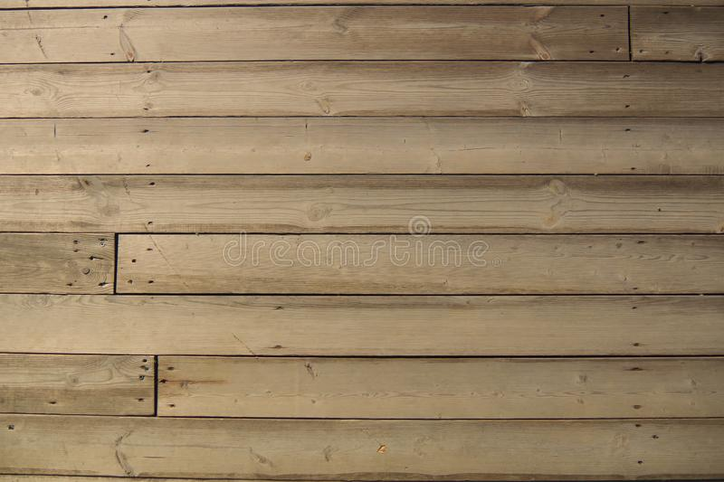 Wood texture background. Wooden planks background, weathered, with nails. stock photo