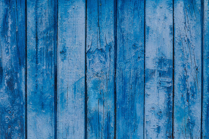 Wood Texture Blue Background Old Pale Scratched Panels