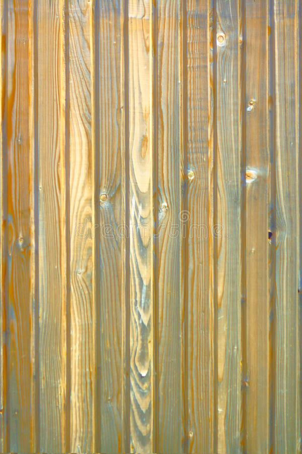 Wood texture, board blue-brown stock photography