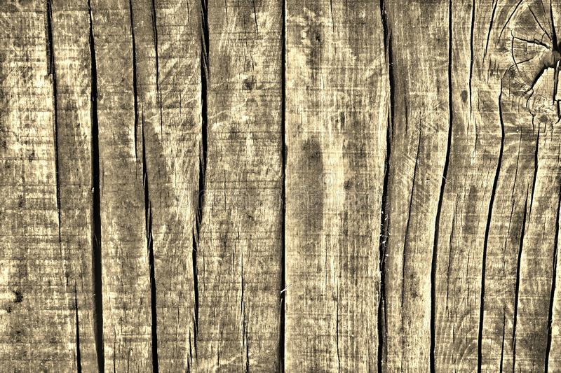 Wood texture. Detailed wood texture. Sepia tone stock image