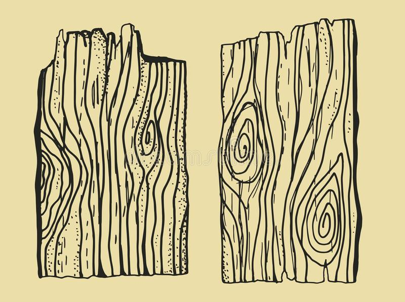 wood texture drawing hand made pieces of broken boards stock
