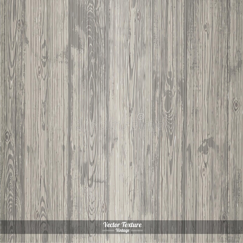 Wood texture. Grey Dirty Wooden Background vector illustration