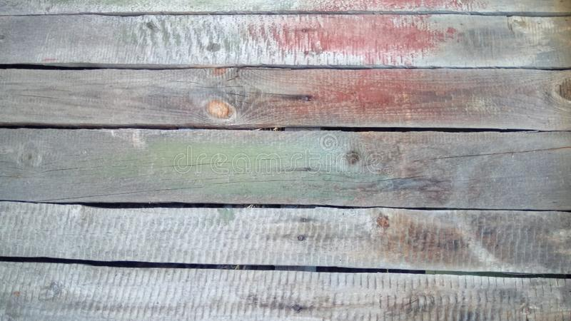 Wood texture with natural patterns. Background of horizontal wooden plank royalty free stock photos