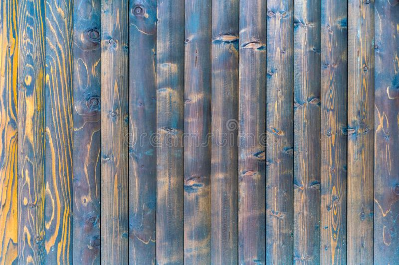Wood texture with natural patterns. Background of vertical wooden plank. Different vertical lines. Background for text or design.  royalty free stock photography