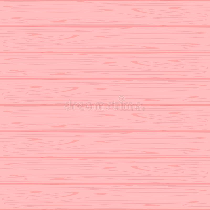 Wood texture soft pink colors pastel for background, wooden background pink colors pastel soft, texture of wood table floor pink royalty free illustration
