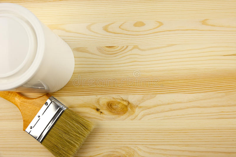 Download Wood Texture And Tin, Paintbrush Stock Image - Image: 20406487