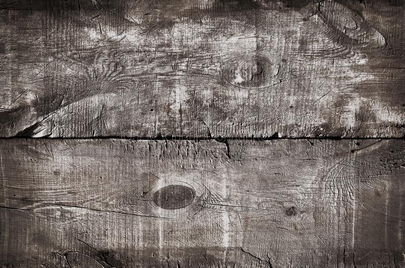 Wood texture tinted in white, top view of rustic wooden table. Close up of colored white wall background, texture of old top table royalty free illustration