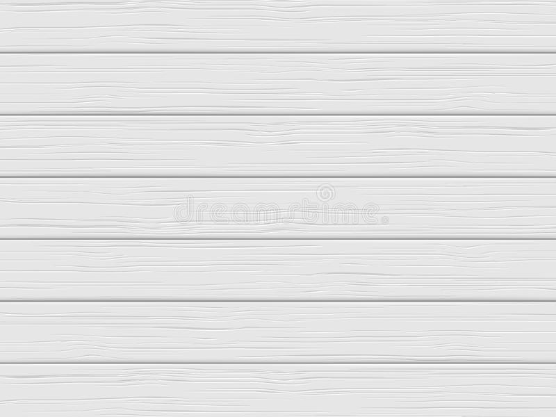 Wood texture, white plank. Wooden background royalty free illustration