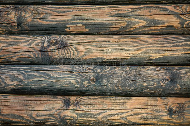 Old wood texture, the color of a beautiful old tree. royalty free stock photography