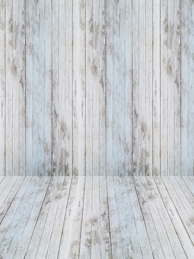 Wood texturgrå färgsignal med trägolvet Svartvitt Surfac arkivbilder