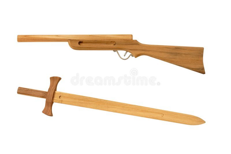 Wood toy stock image