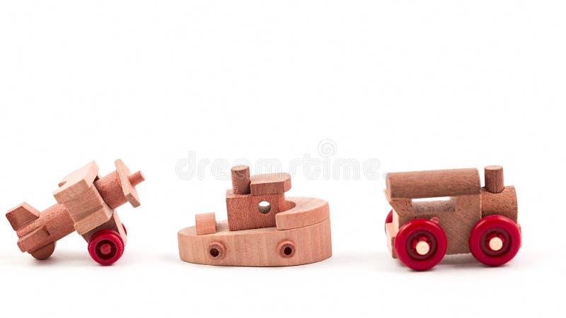 Wood toy royaltyfri bild