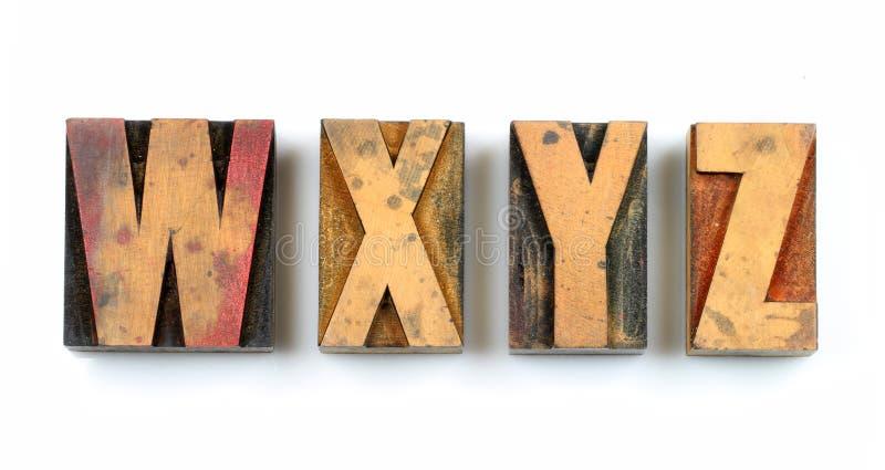Wood Type Stock Image Image Of Square Typography Symbol 23491385
