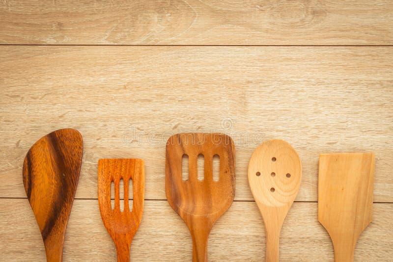 Download Wood utensils arkivfoto. Bild av vitt, utrustning, objekt - 106826020