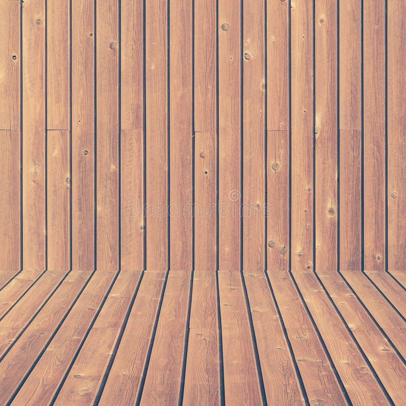 Wood vägg och sömlösa durktextur och bakgrund royaltyfri bild