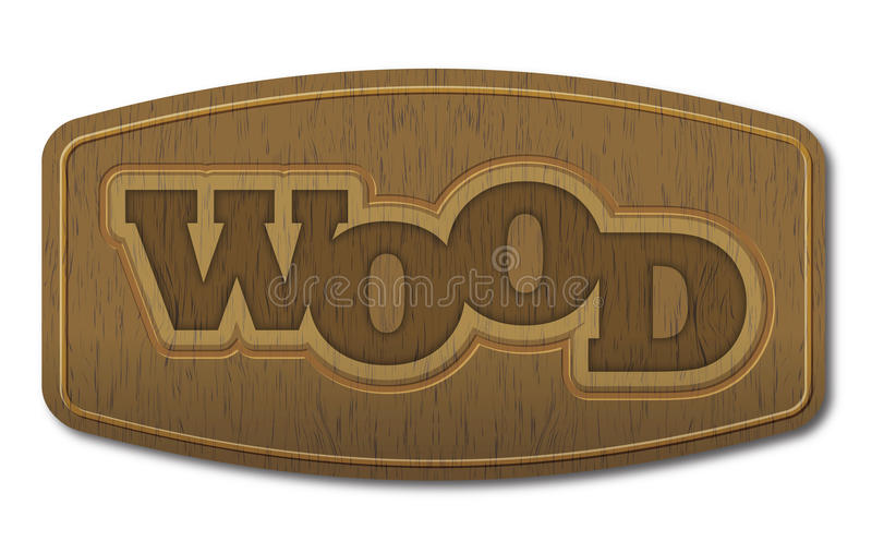 Download Wood - vector stock vector. Image of decorate, detail - 11504748