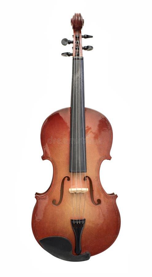 Wood violin royalty free stock images