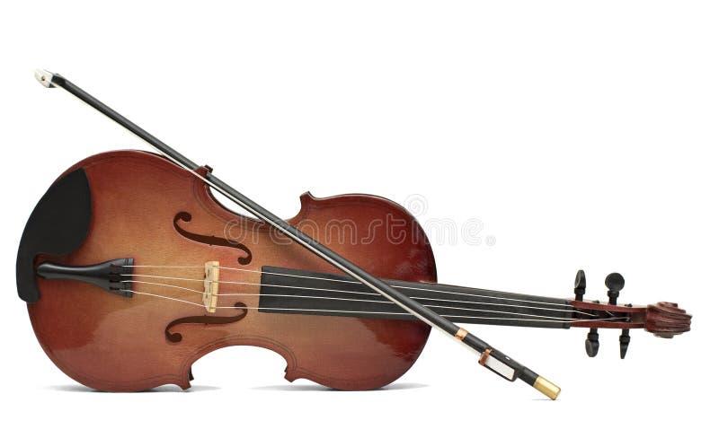Wood violin royalty free stock photography