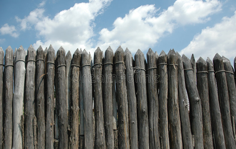 Download Wood wall stock photo. Image of secure, defence, wall, historic - 189100