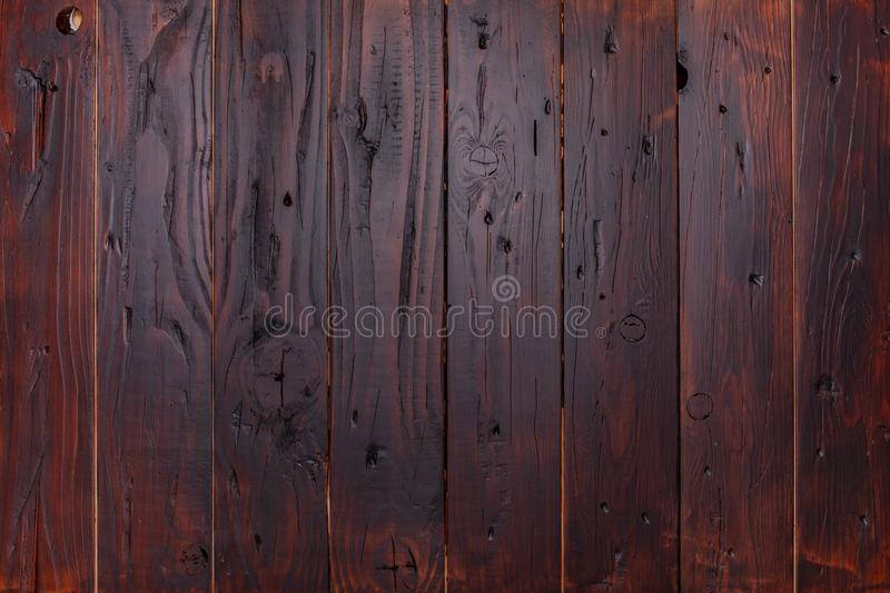 Brown wooden background planks or parquet stock photo