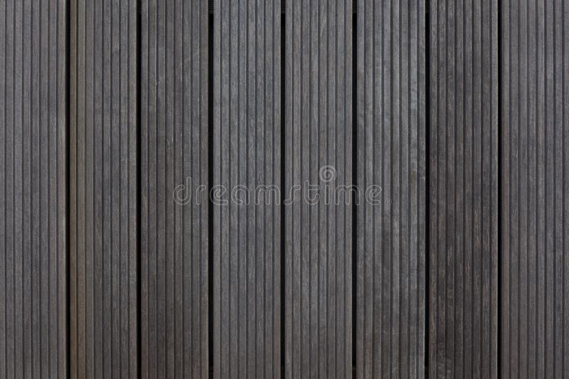 Brown wooden planks background in garden royalty free stock photos