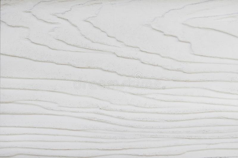 Wood wall texture background with white paint , wave patterns abstract in horizontal royalty free stock photography
