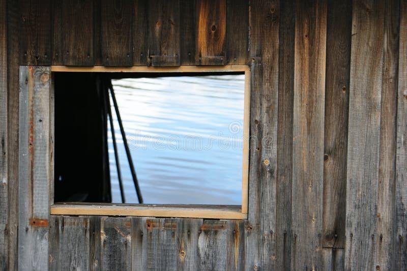 Wood, Wall, Window, House royalty free stock photo