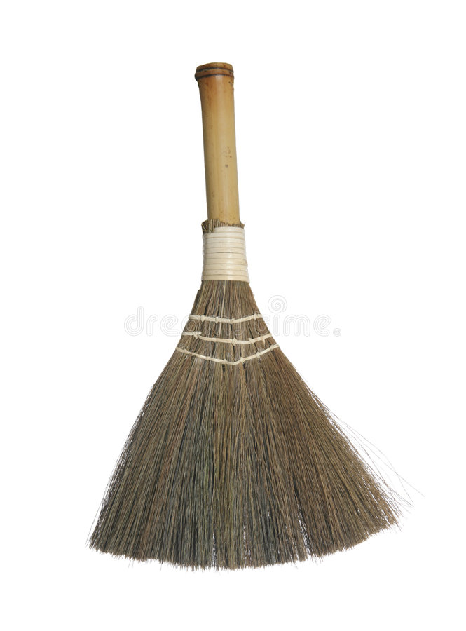 Free Wood Whisk Broom Stock Photography - 8794412