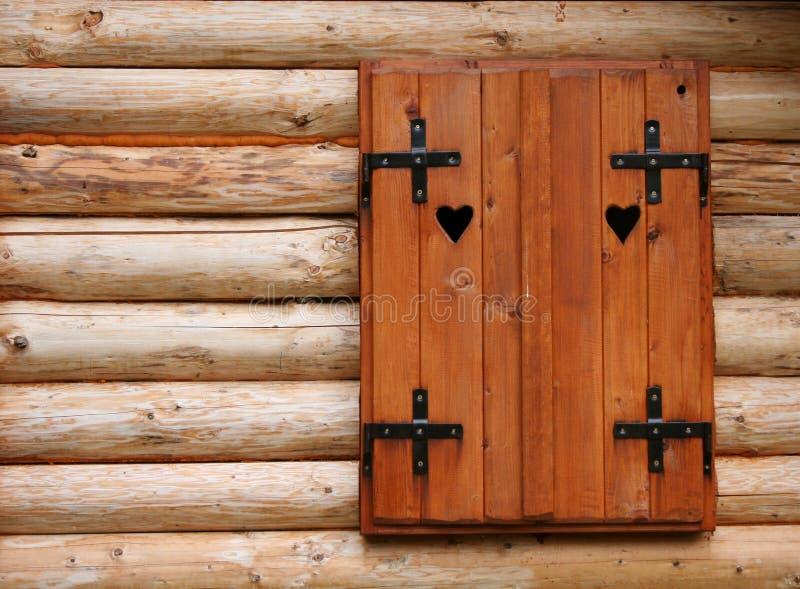 Wood window stock photography