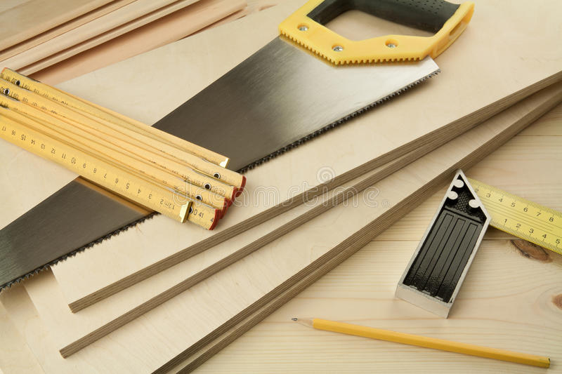 Wood working royalty free stock photos