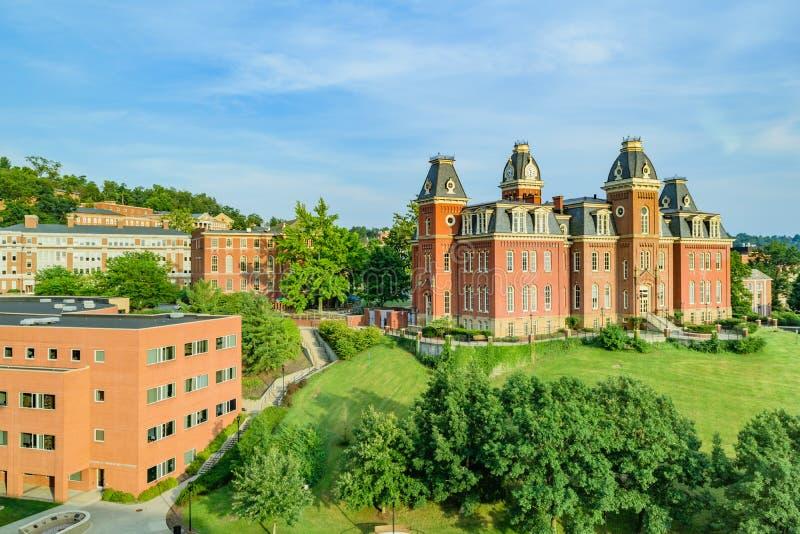 Woodburn Hall chez Virginia University occidentale photos stock