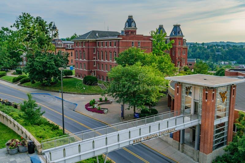 Woodburn Hall chez Virginia University occidentale photographie stock
