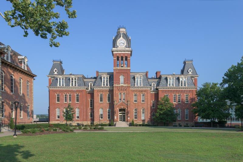 Woodburn Hall at West Virginia University royalty free stock photography