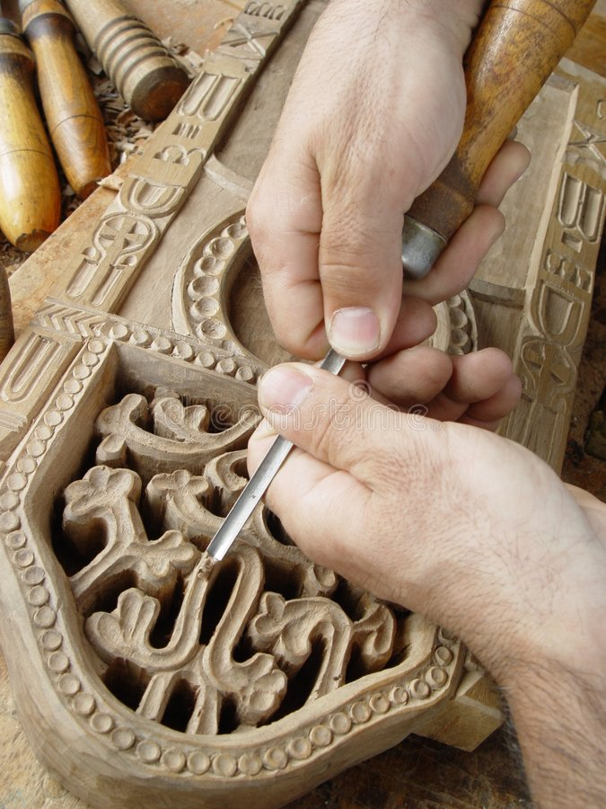Woodcarving lizenzfreie stockfotografie