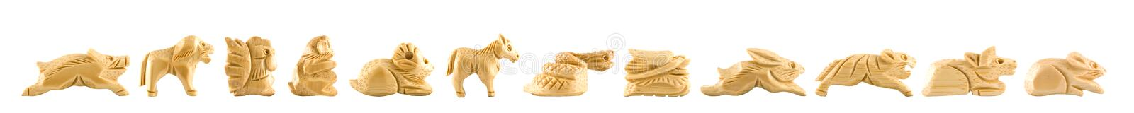 Download Woodcarving Chinese sign stock image. Image of astrological - 7848515