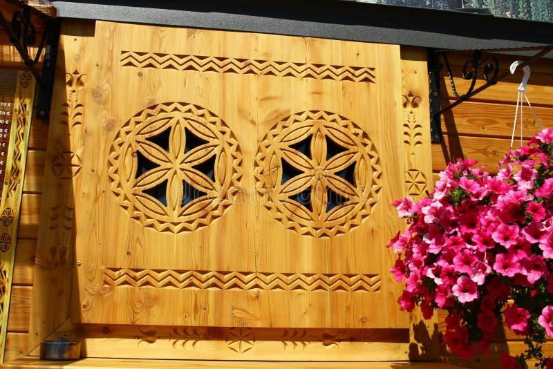 woodcarving stockfotografie
