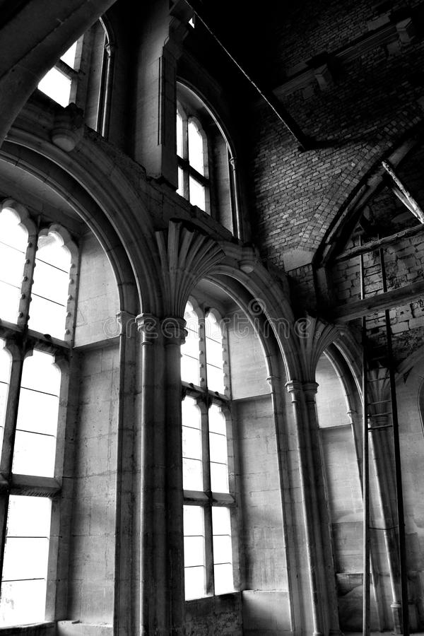 Woodchester Mansion stock image
