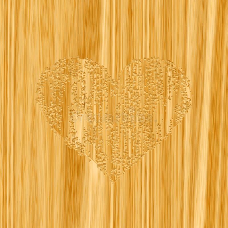 Woodcraft Heart Royalty Free Stock Photo