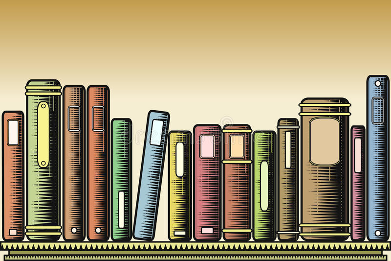 Download Woodcut Books Royalty Free Stock Photo - Image: 9766775