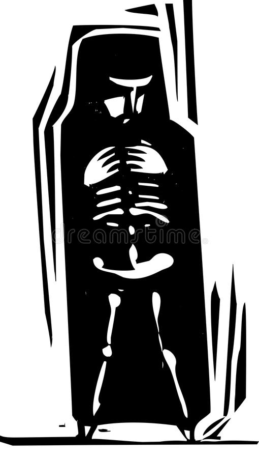 Download Bones within stock vector. Image of hijab, growth, fear - 29801159